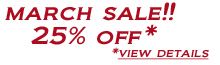 2020-03 March Sale 25% off view details