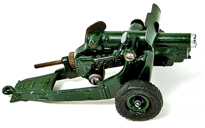 WWII Royal Artillery 4.5 Inch Howitzer - fair-good