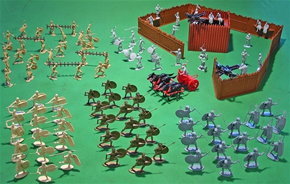 Rome vs. Carthage Playset