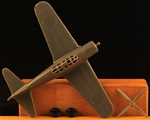 WWII Japanese Zero Fighter Airplane - gray