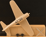 WWII Japanese Zero Fighter Airplane - tan