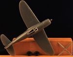 WWII U.S. P-47 Fighter-Bomber Airplane - gray