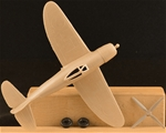 WWII U.S. P-47 Fighter-Bomber Airplane - tan