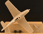 WWII U.S. P-51 Fighter-Bomber Airplane - tan
