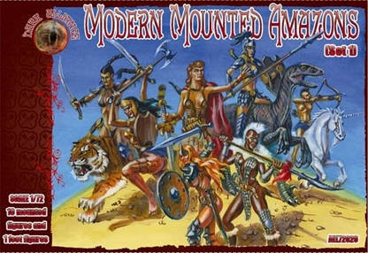 Modern Mounted Amazons - Ancient Medieval Fantasy