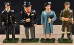 King and Queen 1940 - with Churchill - 3 sets left