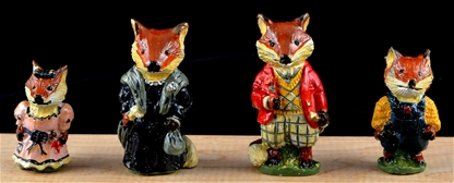 Family of Foxes - mint in box 1992