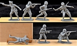 WWII Germans - 14 in 7 pose retired Chinese clones