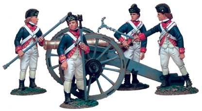 British Artillery Set #1 - 1754-1763