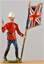 58th Foot Flagbearer - Queen's Color - Zulu War