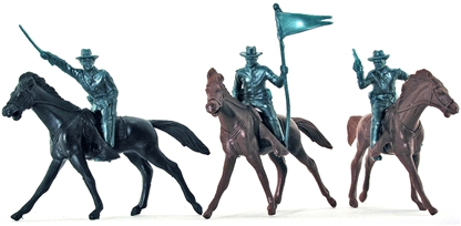 U.S. Cavalry with horses - 3 each