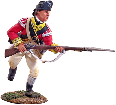 British 10th Foot Light Infantry Charging #1