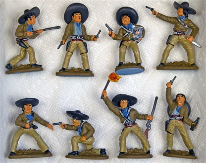Mexican Bandits - Fully painted