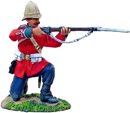 British 24th Foot Kneeling Firing #1