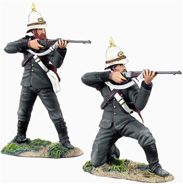 British Natal Mounted Police Firing Line Set #1