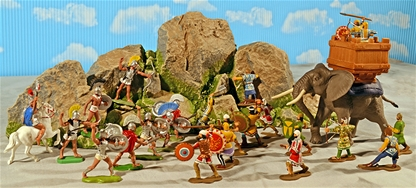 Painted Thermopylae Playset