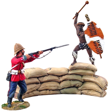 'Breaching the Wall' - British 24th Foot vs Zulu