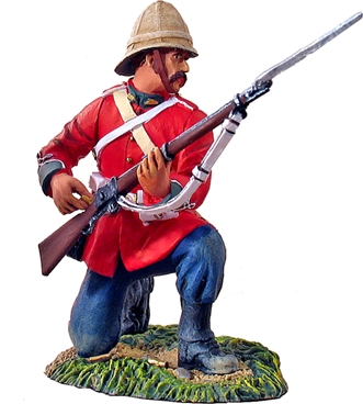 British 24th Foot Kneeling Loading #1-only 3 left