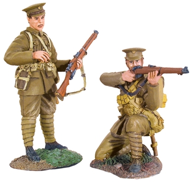 WW I British Infantry Firing Line Set #4