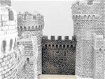 Castle Connecting Wall - painted reissue castle