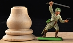 Real Wooden Pedestal - 54mm scale