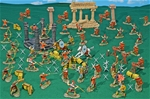 Deluxe Painted Roman Empire Playset - new for 2021