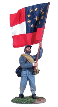 Confederate Infantry Regimental Flagbearer #4