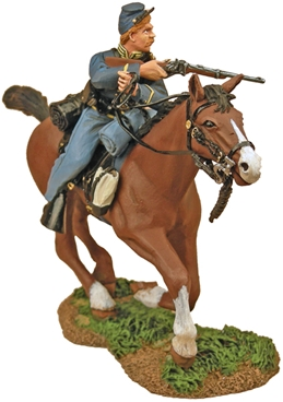Union Cavalryman Charging with Carbine #1