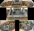 Artillery Coastal Bunker System - fully painted