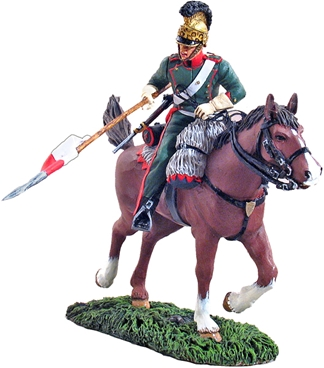 French 4th Lancers Trooper Charging #2