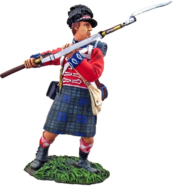 Black Watch 1815 - Attacking with Bayonet #1