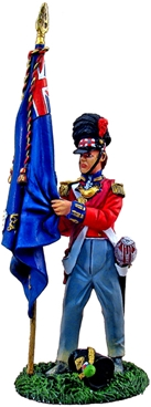 Black Watch 1815 - Ensign with King's Color