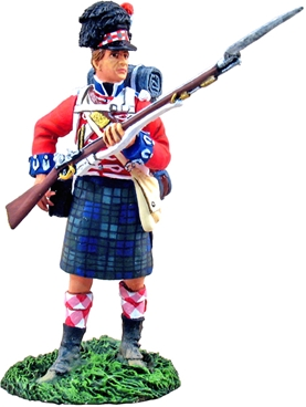 Black Watch 1815 - Reaching for Cartridge #1
