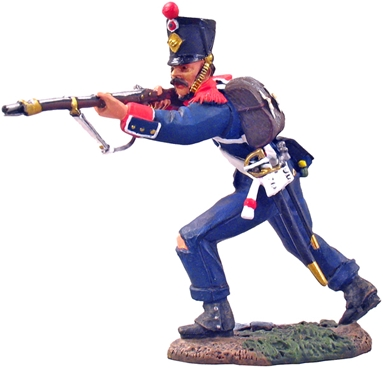 French Light Infantry Voltigeur Standing Firing #1