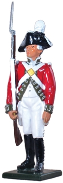 British Private 5th Regiment of Foot - 1792-1800