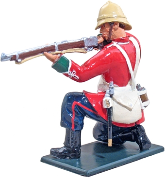 British 24th Foot Kneeling Firing