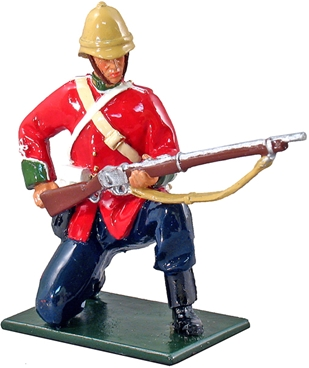 British 24th Foot Kneeling Loading