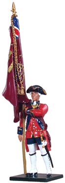 Ensign 1st Foot Guards - King's Colour 1754-1763