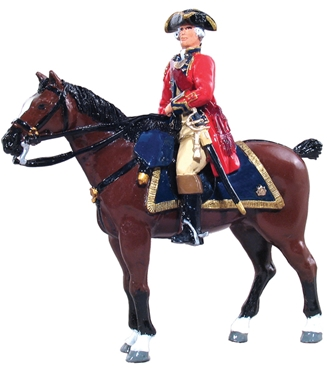 British Officer 1st Foot Guards - 1754-1763