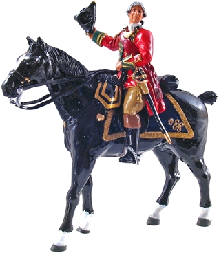 45th Regiment Mounted Officer - 1754-63