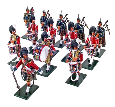 Pipes and Drums of 1st Bn. 79th Regiment