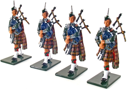 The Pipes and Drums of 1st Bn. 79th Regiment