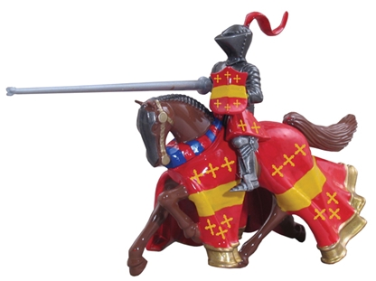 Earl of Warwick Mounted