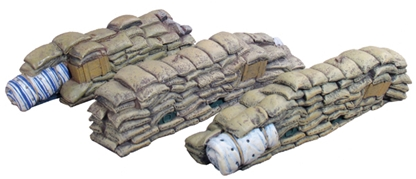 Sandbag Wall Sections