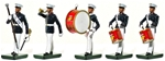United States Marines Drum and Bugle Set