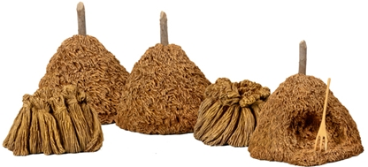 Haystacks with Sheaves of Wheat