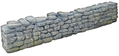 Straight Stone Wall Sections