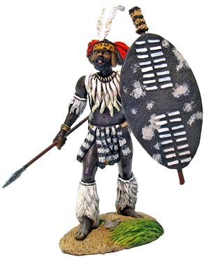 Zulu uMbonambi Regiment Advancing #1