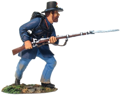 Union Infantry Iron Brigade Advancing #1