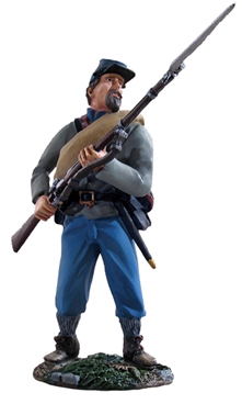 Confederate Infantry at the Ready #1